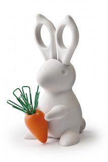 Cute scissor-eared bunny.