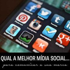 Qual a melhor mídia social para fortalecer sua marca