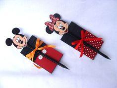 Lembrancinha Bloco do Mickey e da Minie