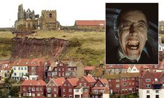 Heavy rainfall saturated the soil and led to the mudslide at St Mary's Church in Whitby. It is feared more of the cliff will collapse…