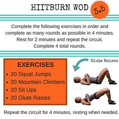 3.4 is bringing some heat  [especially for those glutes] How many rounds can you get in four minutes?  You have four sets of four minutes to try and get as many rounds as you can.  BUNS ON FI-YAH.  #hiitburn #hiit #hiittraining #hiitworkout #hiitcardio #dailyhiit #wod #workout #workoutoftheday #exercise #exercises #fitnessexercises #fit #fitness #fitfam #fitspo #fitlife #gym #gymlife #homeworkout #fitcouple #fitcouples by hiitburn