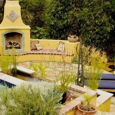 Outside Fireplaces Design, Pictures, Remodel, Decor and Ideas - page 8