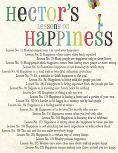"The lessons Hector learns in ""Hector and the Search for Happiness"""