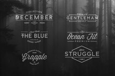 Check out 6 Type Vintage Logo by Goodthink Supply Co. on Creative Market