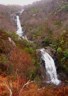 Inchree Waterfalls, Scotland by MissyTee, via Flickr