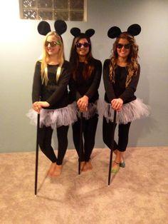 DIY 3 Blind Mice Halloween Costume