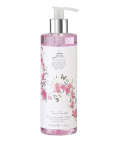 Don't take precious hands for granted. Give those delicate digits what they needs with this non-drying moisturizing wash. Its delicately scented with rose and violet for a lovely sensory experience.