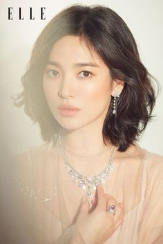 Song Hye Kyo is the new model for a Paris based luxurious jewelry brand – The House of Chaumet. I'm at a lost for an adjective to describe her beauty. Korean Actresses, Korean Actors, Actors & Actresses, Song Hye Kyo, Song Joong Ki, Korean Celebrities, Hollywood Celebrities, Korean Beauty, Asian Beauty