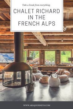 Book charming #chalet Richard in the French #Alps. Located in Raffort, Meribel, it is just 250 metres to the Olympic gondola lift. Learn more #luxury #travelmore #villas #winter