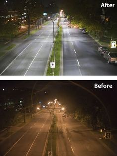 [Before and After] LED Roadway Lighting in Halifax, Nova Scotia