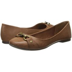 Rocket Dog Molliana Women's Flat Shoes, Brown ($20) ❤ liked on Polyvore featuring shoes, flats, brown, synthetic shoes, brown shoes, slip on flats, brown flat shoes and brown slip on shoes