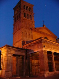 Roma, Chiesa di San Giorgio in Velabro e L'arco degli Argentari