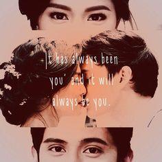 """Goodevening :* #Otwol #jadine"" James Reid, Nadine Lustre, Jadine, Filipino, Twilight, Fangirl, Relationships, My Life, Happiness"