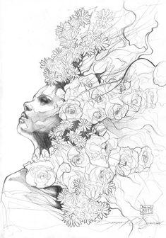#artiste - Danny O'Connor, la rencontre du papier et du crayon
