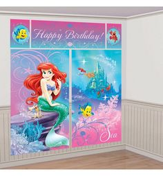 Little Mermaid Party Supplies - Little Mermaid Birthday - Party City Want, without the happy birthday part.