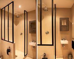 Paroi de douche façon verrière : Des idées originales pour sa paroi de douche - Journal des Femmes Décoration