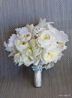 elegant bridal bouquets | Hotel Del Coronado Wedding ~ Tiffany Blue | San Diego Wedding Blog