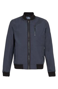 $100, Bomber Jacket by Topman. Sold by Nordstrom. Click for more info: http://lookastic.com/men/shop_items/177753/redirect
