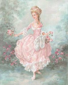 """""""Lilianna"""" canvas print from my original oil painting."""