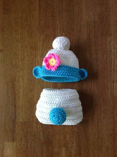 Oh. My. Goodness. Smurf your wee one! | blue and white Smurf baby crochet pattern by Terree Lowe on Ravelry