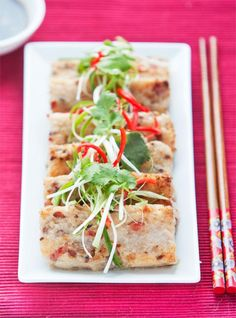 Turnip cake is a popular Chinese New Year dish with a positive meaning and while you might think turnip sounds awful it really is delicious
