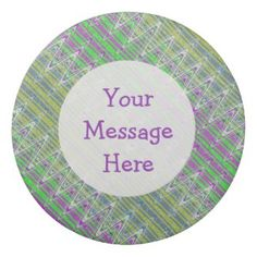 Personalized Colorful Eraser for your office school, party favors. #zazzle #erasers #gifts