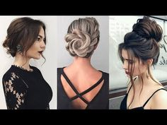 Unique PROM UPDOS for Long Hair 2018 Hairstyles Compilation - YouTube