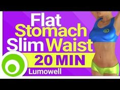 Cardio to Get a Flat Stomach and a Slim Waist - Burn Belly Fat, Lose Weight and Tone Your Body - YouTube