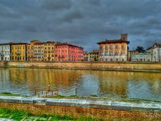 Lungarno IV, Pisa