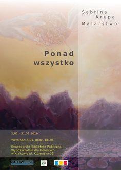 Wernisaż malarstwa Sabriny Krupy | Krowoderska Biblioteka Publiczna w Krakowie