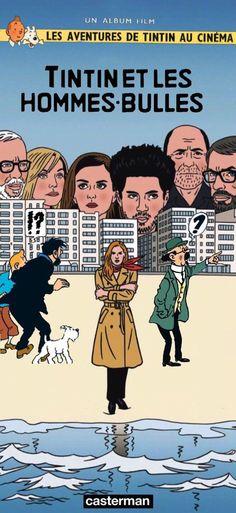 Les Aventures de Tintin - Album Imaginaire - Tintin et les Hommes-Bulles