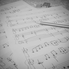 Writing #emotions  #music #musica #musique #harmony #harmonie #chords #musician #musicianslife #musicspeaks #musicspeakswhenwordsfail #notes #key #clef #cle #pencil #sheetmusic #blackandwhite #blackandwhitephotography #bnw #blacknwhite #bnw_captures #bnw_life #bnw_society #photooftheday #picoftheday #igers #instagood #like4like by lory.v.89