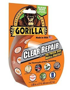 Gorilla Clear Repair3Pack Size 3Pack Model * Details can be found by clicking on the image.