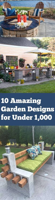 10 Amazing Garden Designs for Under 1,000 (1)
