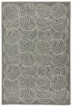 NORDIS | | שטיחים גדולים  נורדיס שטיח, סיבים ארוכים 195*133 אפור