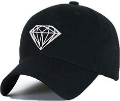 New Baseball Cap Diamond SnapBack Unisex Men Women Flexfit Trucker Hat 32df30f7a06