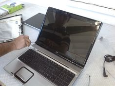 London HP Pavilion dv9000 LCD Back Cover Replacement