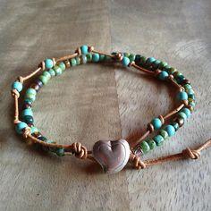 Bohemian bracelet boho chic bracelet surf bracelet gift for