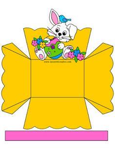 8 Cestinhas de Páscoa Fáceis de Fazer Para Imprimir - Blog Cantinho Alternativo Easter Crafts For Kids, Diy Projects To Try, Easter Baskets, Free Crochet, Activities For Kids, Diy And Crafts, Pikachu, Creations, Crochet Patterns
