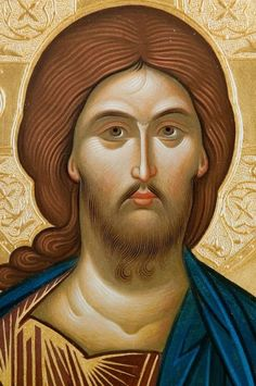 Face of Christ Religious Pictures, Religious Icons, Religious Art, Life Of Jesus Christ, Religion Catolica, Jesus Face, Russian Icons, Religious Paintings, Byzantine Icons
