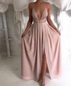 Creme Catalina Maxi Dress