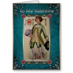 Valentine& Day Vintage - Girl in a red jacket. Card Valentine's Day - Greeting Cards in Vintage Style Vintage Valentine Cards, Valentine Day Cards, Holiday Cards, Vintage Girls, Vintage Style, Valentine's Day Greeting Cards, Rose Bouquet, Best Gifts, Prints