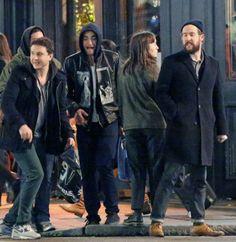 Robert  in London with Marcus Foster , Sam Bradley, Nettie Wakefield  (12/05)