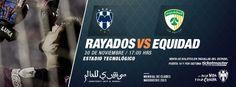 3er partido de preparación rumbo al Mundial de Clubes. ¡Vamos #Rayados! Sábado 30 de noviembre a las 17:00hrs en el Estadio Tecnológico. http://www.rayados.com/articulo/1265493