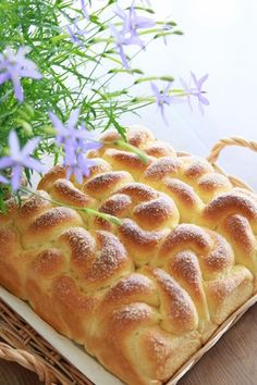 Flower bread of maple flavorメープル風味のお花パン step by step