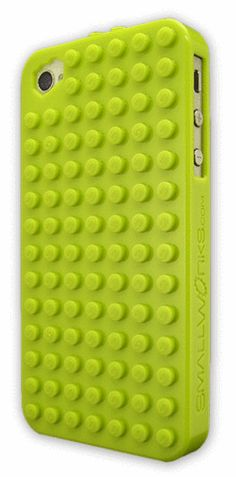 Picture of BrickCase for iPhone 4/4S in Lime
