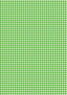 Cicideko - Green Gingham