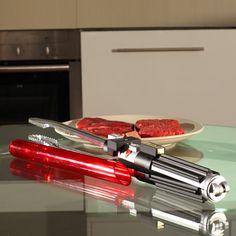 WANT! - Star Wars Lightsaber™ BBQ Tongs -