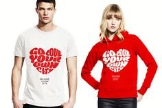 Check out Go Love Your Own City T-Shirt by Just Me on Creative Market