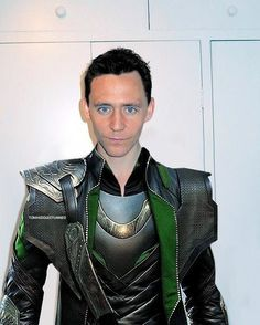 Tom getting ready to film Thor 2!